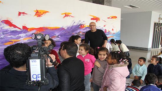 الفنان هاروان ريد  ينظم  الدورة الثانية لأسبوع الفن والتلوين في الرباط-طنجة-الأدبية