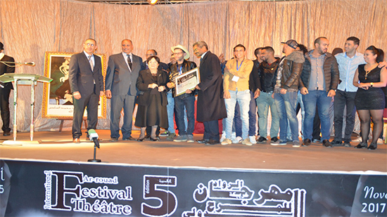 زنوبيا المحاربة تتوج بالجائزة الكبرى لمهرجان الرواد المسرحي الدولي-طنجة-الأدبية
